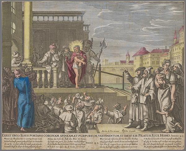 Maarten de Vos – Kristus u piláta