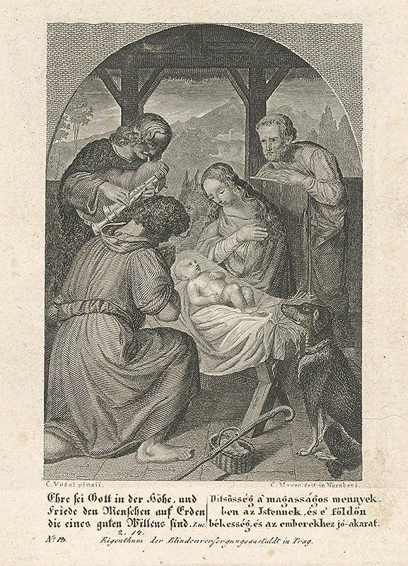 Carl Mayer, Carl Christian Vogel von Vogelstein – Klaňanie pastierov