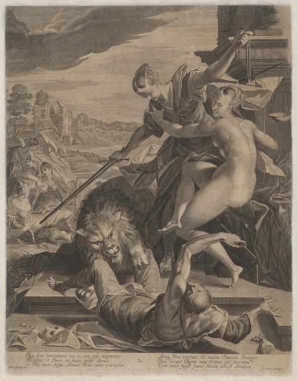 Georg Andreas Wolf, Hans von Aachen – Mytologický výjav
