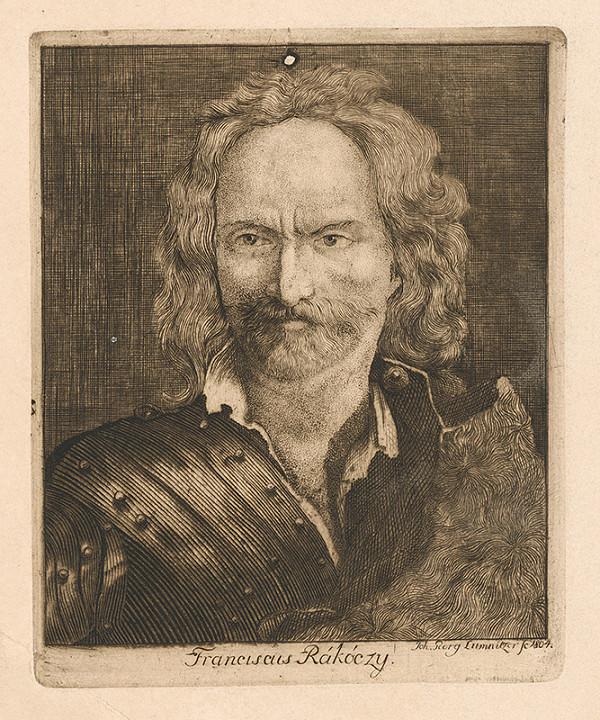 Ján Juraj Lumnitzer – Portrét Františka Rákoczyho