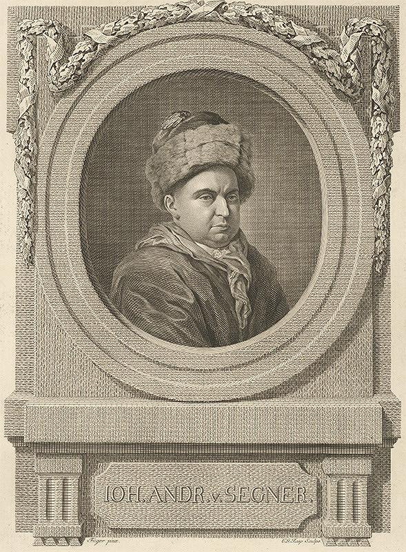 Gottlieb Rasp, Friedrich Heinrich Füger - Portrét J. A. Segnera