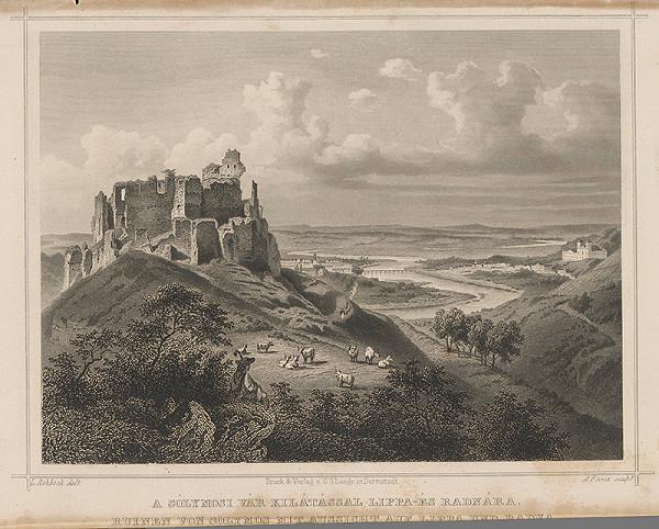 Ludwig Rohbock, A. Fesca – Solymošský hrad