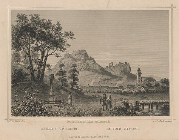Julius Umbach, Ludwig Rohbock - Zrúcaniny hradu Sirok