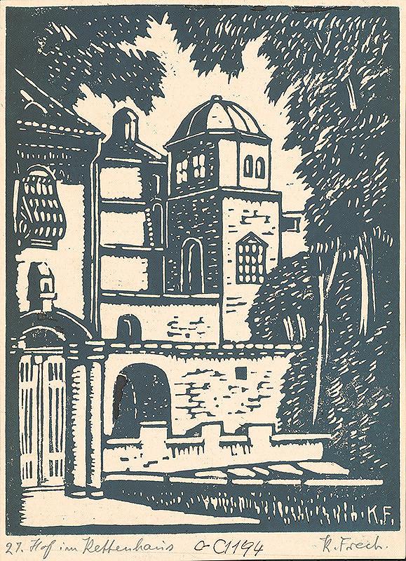 Karol Frech – Dvor v Kettenhause