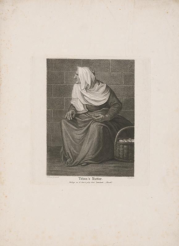 Carl Rahl, Titian - Titianova matka