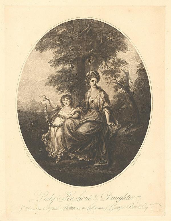 Angelica Kauffmann, Thomas Burke - Lady Rushout s dcérou