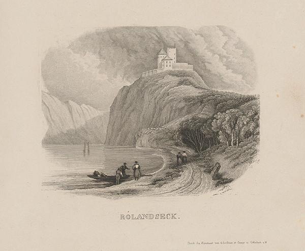 Stredoeurópsky grafik z 19. storočia - Rolandsek