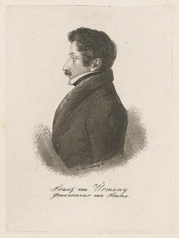 Ferdinand Karl Theodor Lütgendorff – Portrét Františka von Ürmenyho