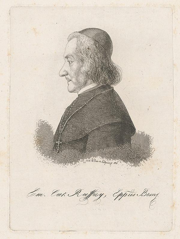 Ferdinand Karl Theodor Lütgendorff - Portrét biskupa E.K.Raffayho