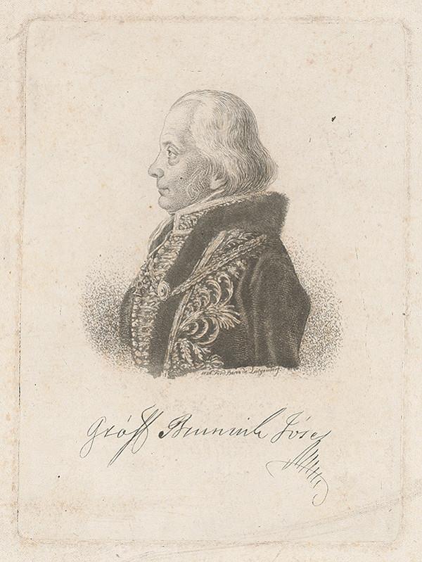 Ferdinand Karl Theodor Lütgendorff - Portrét grófa Jozefa Bruninha