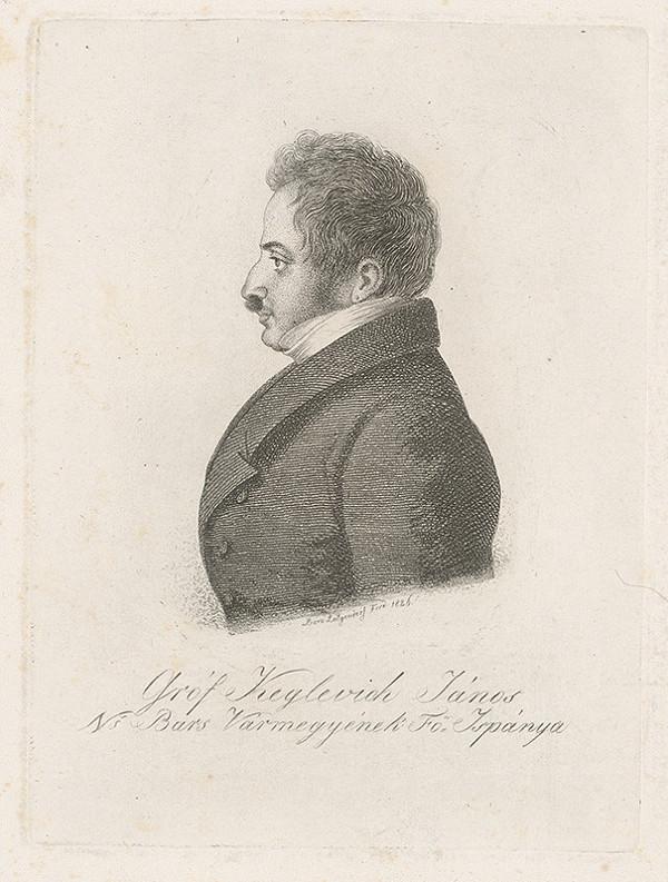 Ferdinand Karl Theodor Lütgendorff - Portrét Jána Keglevicha