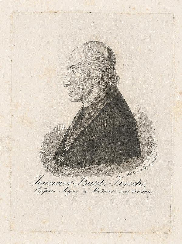 Ferdinand Karl Theodor Lütgendorff - Portrét J.B.Jesicha