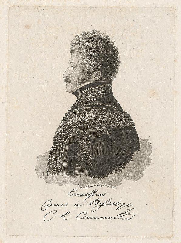 Ferdinand Karl Theodor Lütgendorff - Portrét barona E.de Bisingera