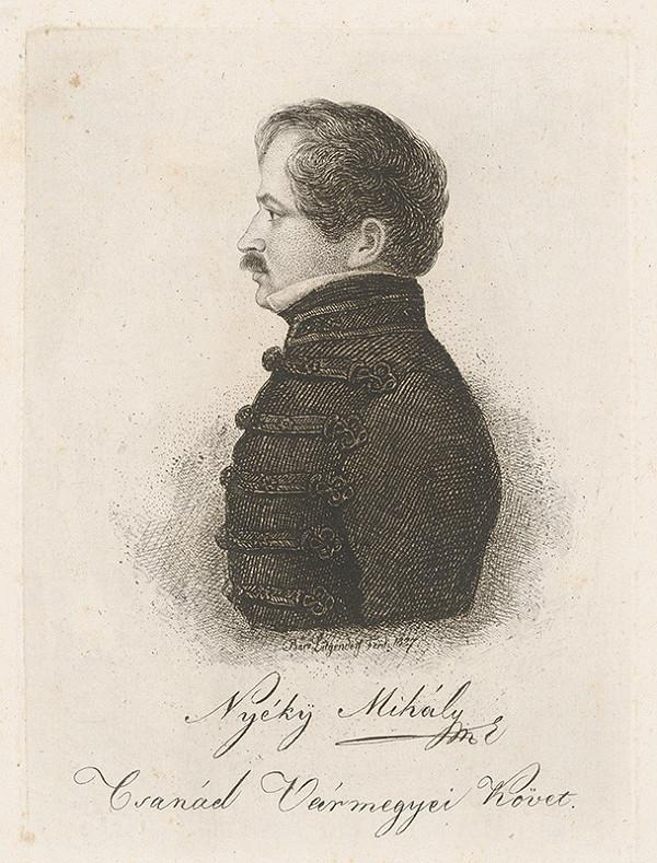 Ferdinand Karl Theodor Lütgendorff - Portrét Michala Nyékyho