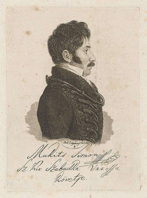 Ferdinand Karl Theodor Lütgendorff - Portrét Mukitsa Simona