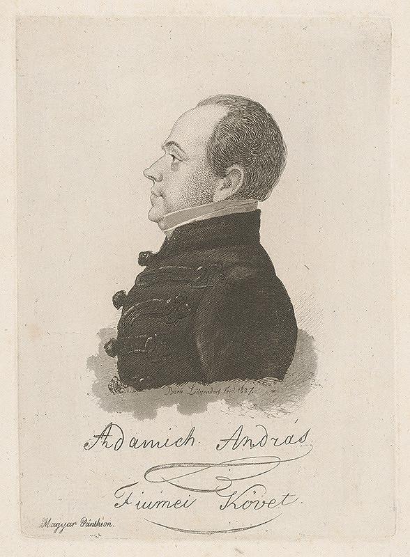 Ferdinand Karl Theodor Lütgendorff - Portrét Andreja Adamicha