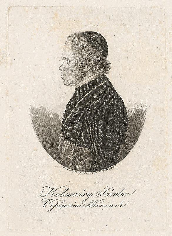 Ferdinand Karl Theodor Lütgendorff – Portrét Šándora Kolosváryho