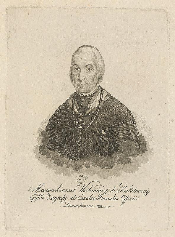 Ferdinand Karl Theodor Lütgendorff – Portrét Maximiliana V.de Prakitovecza