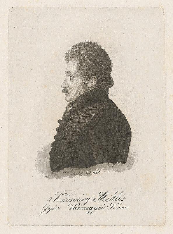 Ferdinand Karl Theodor Lütgendorff - Portrét Mikuláša Kolosváryho