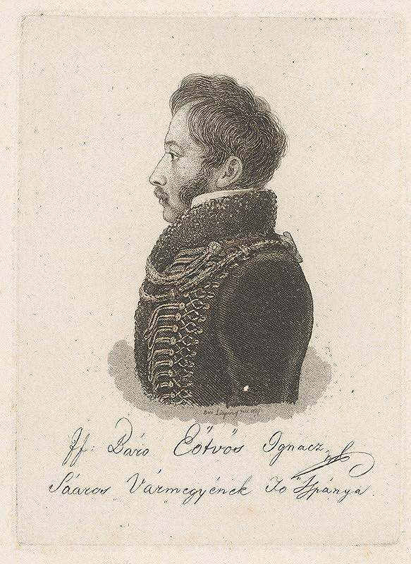 Ferdinand Karl Theodor Lütgendorff – Portrét baróna Ignaca Eötvösa