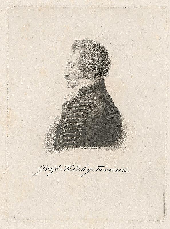 Ferdinand Karl Theodor Lütgendorff – Portrét grófa Františka Telekyho