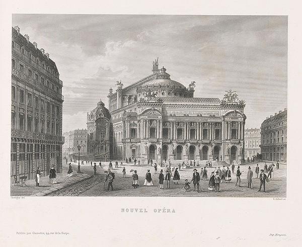 Félix Thorigny, E Aubert – Nová opera v Paríži