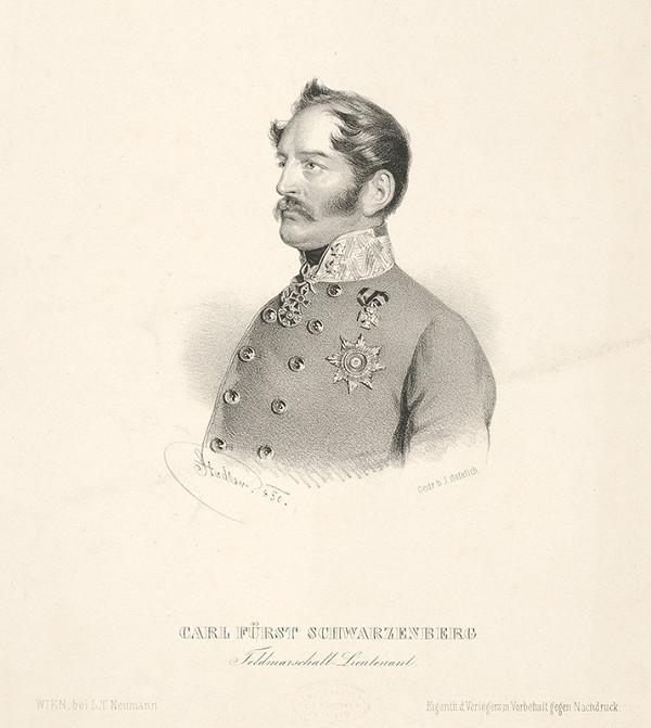 Johann Stadler - Portrét Karola Schwarzenberga