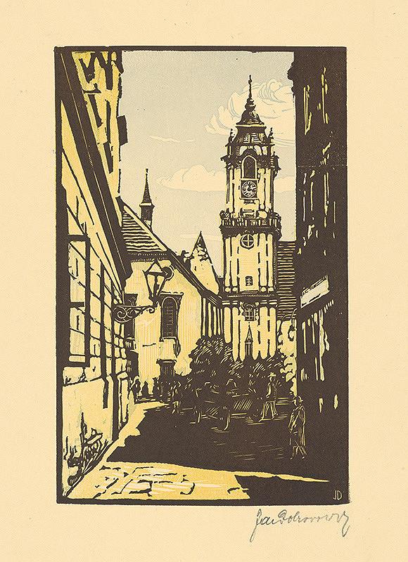 Jaroslav Dobrovolský – Radničná veža v Bratislave