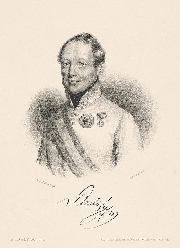 Adolf Dauthage – Portrét grófa J. Radeckého