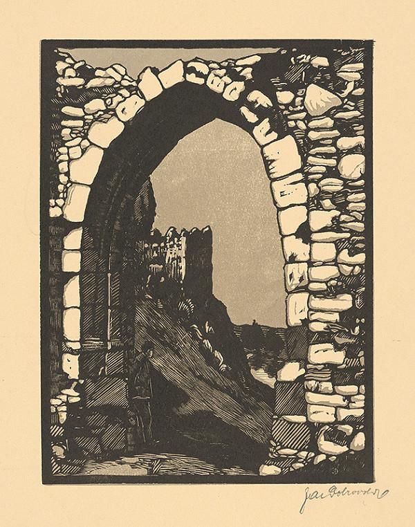 Jaroslav Dobrovolský – Ruiny hradu Devín