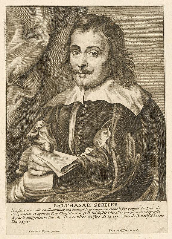 Anthony van Dyck, Paulus Pontius, Joannes Meyssens - Balthasar Gerbier