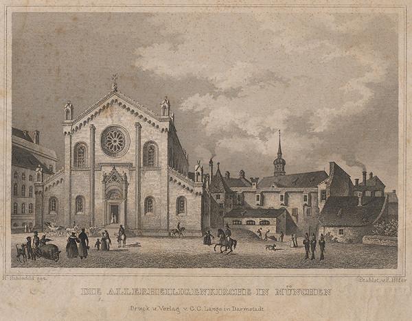 Johann Heinrich Schönfeld, E. Höfer – Kostol v Mníchove