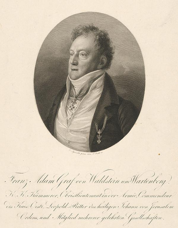 Carl Heinrich Rahl, Karl Joseph Aloys Agricola – Portrét F. Adama grófa z Valdštejna