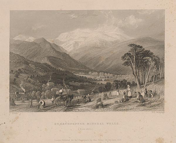 James Charles Armytage, Thomas Allom – Minerálne pramene vo Welse