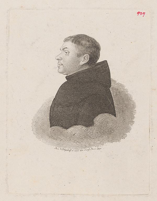 Ferdinand Karl Theodor Lütgendorff – Portrét františkána