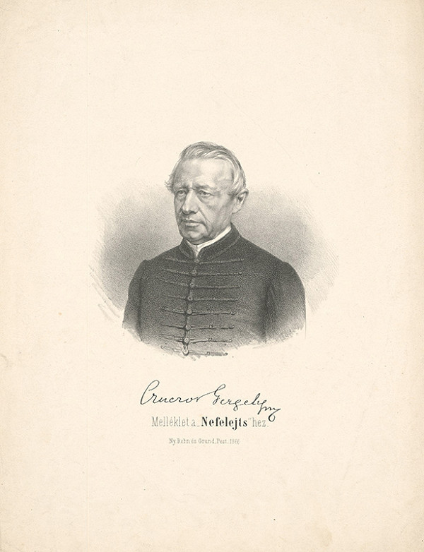 Stredoeurópsky grafik z 19. storočia - Czuczor Gregor