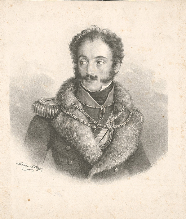 Friedrich Johann Gottlieb Lieder – Podobizeň mladého muža