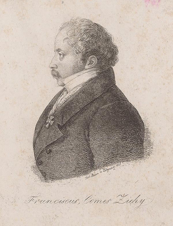 Ferdinand Karl Theodor Lütgendorff – Portrét Ferdinanda Zichyho