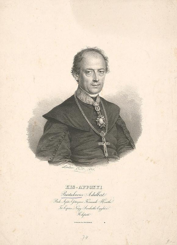 Friedrich Johann Gottlieb Lieder – Kis - Apponyi