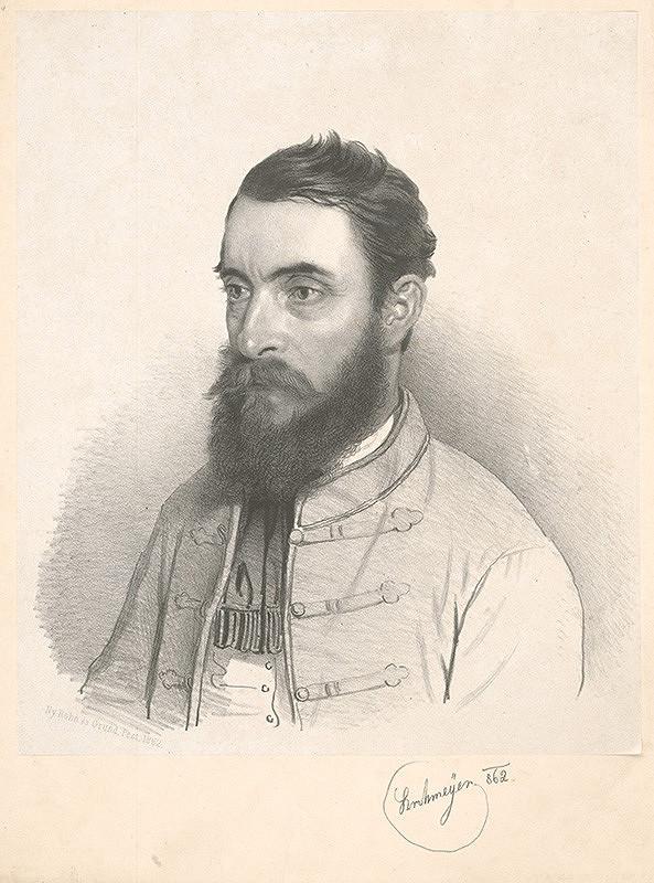 Antal József Strohmayer – Podobizeň bradatého muža