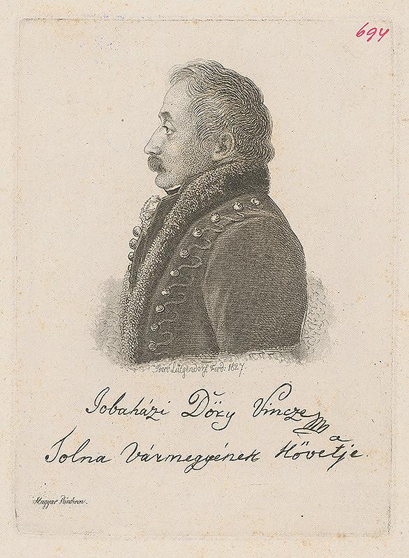 Ferdinand Karl Theodor Lütgendorff - Jobaházi Döry Vonoze