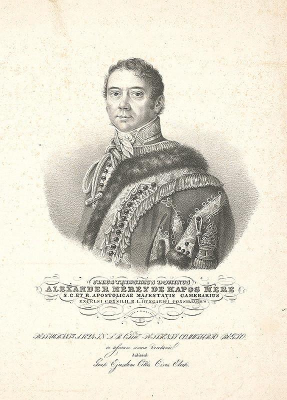 Stredoeurópsky grafik z 19. storočia – Alexander Mérey