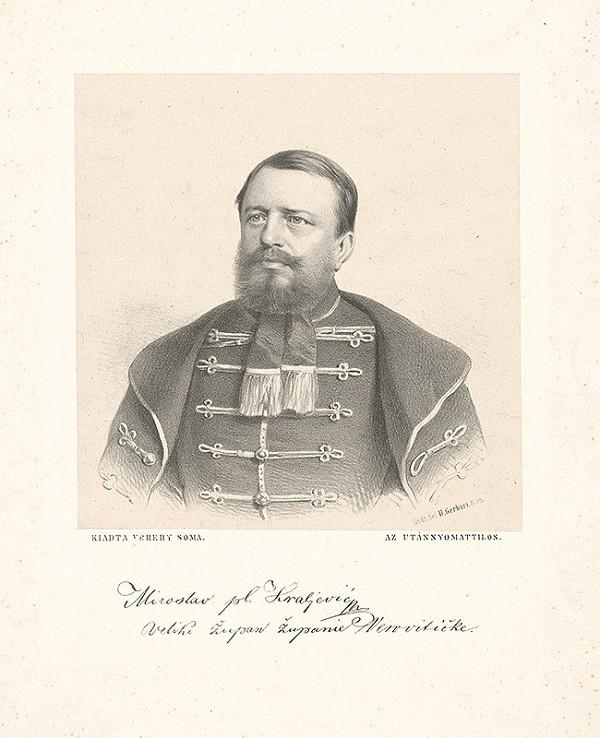 Stredoeurópsky grafik z 19. storočia - Miroslav Hrajlevič