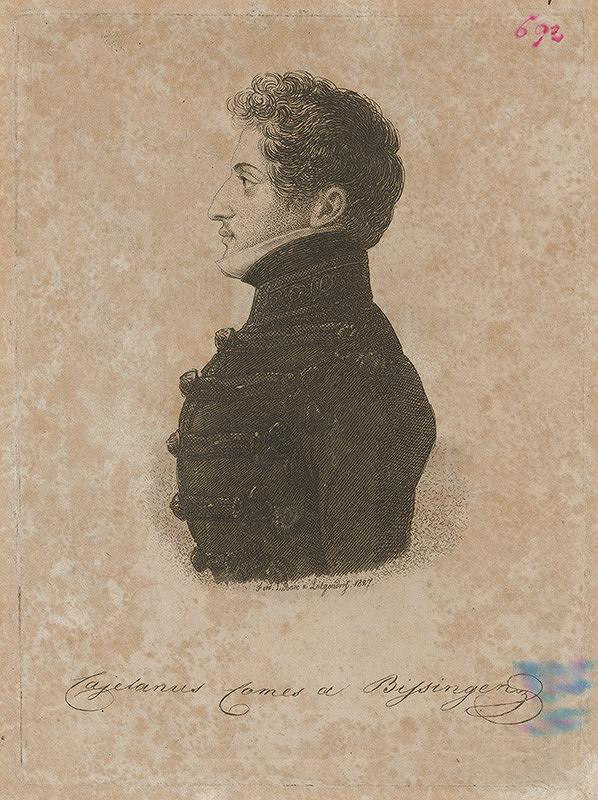 Ferdinand Karl Theodor Lütgendorff - Portrét grófa Bissingena