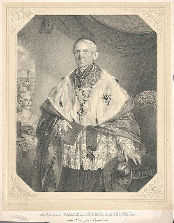 Adolf Dauthage - Kardinál Juraj Haulik