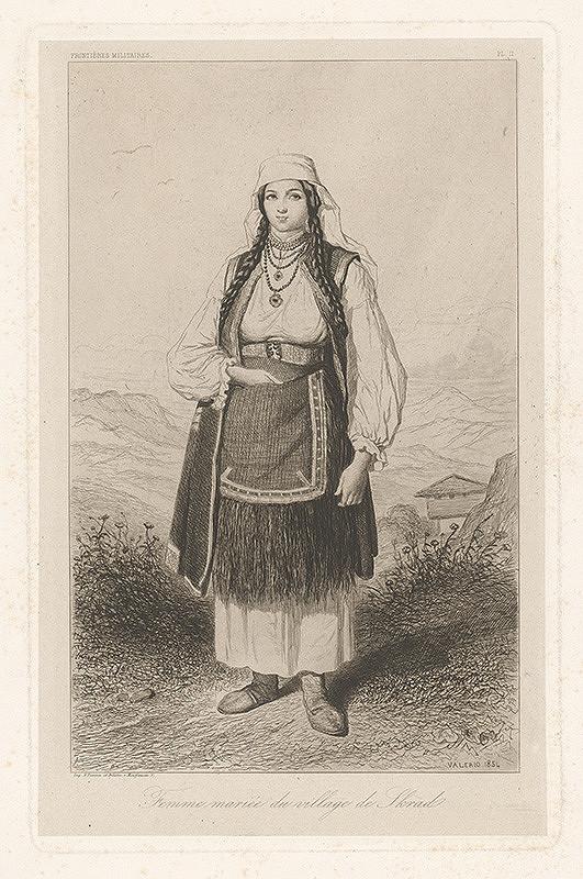 Théodore Valério – Žena zo Skradu
