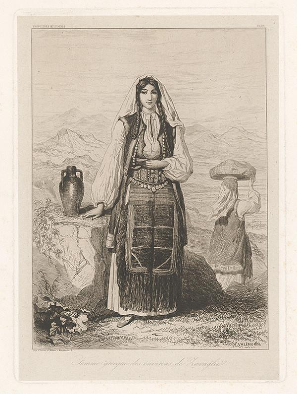 Théodore Valério – Grécka žena