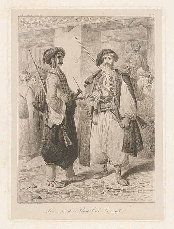 Théodore Valério – Dvaja ozbrojenci