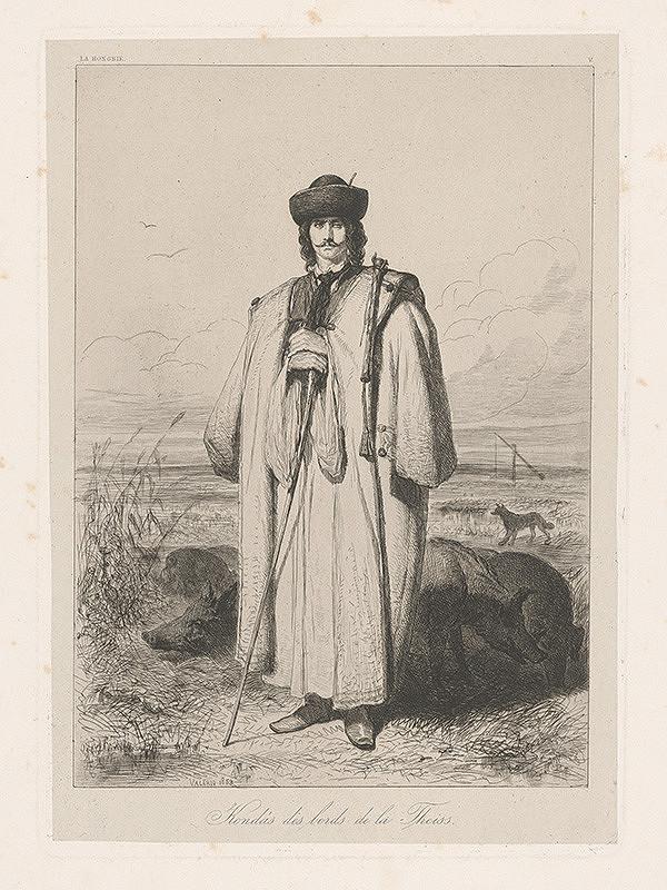 Théodore Valério – Maďarský pastier svíň