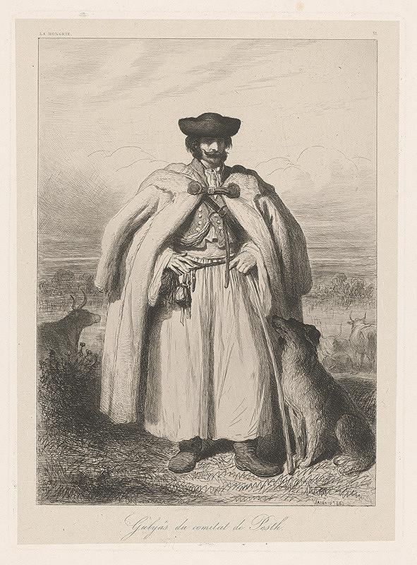 Théodore Valério - Muž so psom